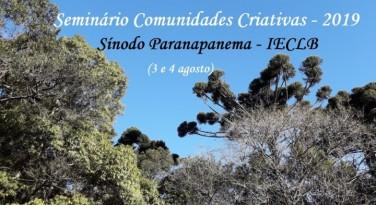 Seminário Comunidades Criativas no Sínodo Paranapanema