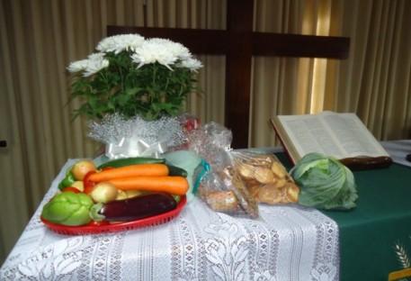 Culto de Ação de Graças na Comunidade Evangélica de Confissão Luterana dos Apóstolos - Jaraguá do Sul/SC