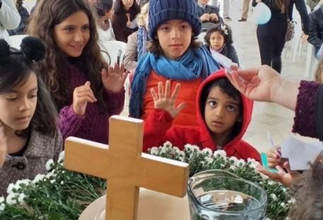 Culto de Aniversário de Batismo no Vale do Paraíba
