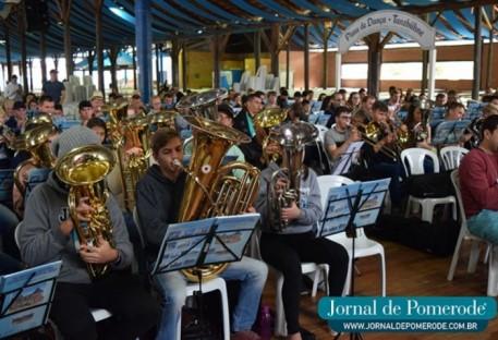Pomerode no Vale do Itajaí sedia Encontro Nacional de Coros de Metais