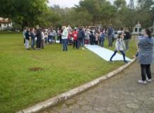 Retiro com crianças no Vale do Itajaí teve como temática os ensinamentos de Cristo sobre paz