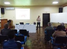 Estudantes de Teologia debatem Metas Missionárias com secretário de Missão da IECLB