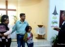 Em Itapoá, a chegada da Família Kaizer de Oliveira...