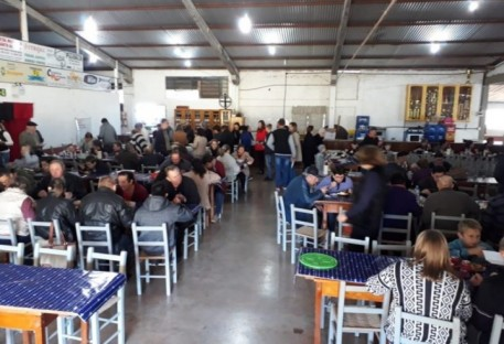 OASE de São José da Glória realiza almoço comunitário