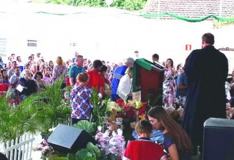 Festa da Colheita na Comunidade Evangélica de Confissão Luterana em Teófilo Otoni (CETO) - 2019