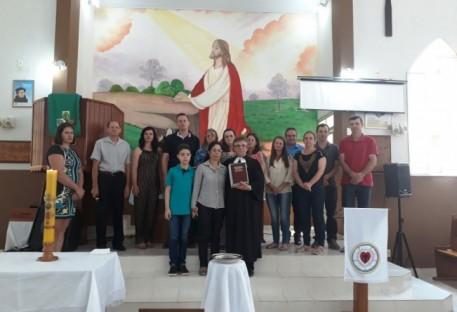 Culto de Batismo, Profissão de Fé e despedida do Pastor Jorge Dumer na Comunidade de Belém - Paróquia Aliança.
