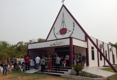 Reinauguração do Templo de Peixoto de Azevedo/MT