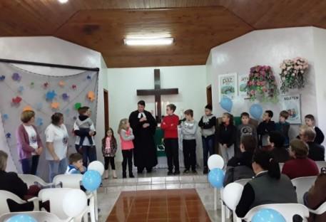 Culto de Lembrança de Batismo na Paróquia de Alto Bela Vista/SC