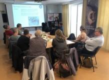 O trabalho com pacientes terminais, crianças e jovens, comércio justo e meio ambiente foram tratados na Alemanha na parceria Nordfriesland-Vale do Ita