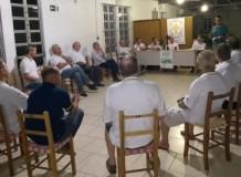 Diácono Dionata em reunião da LELUT
