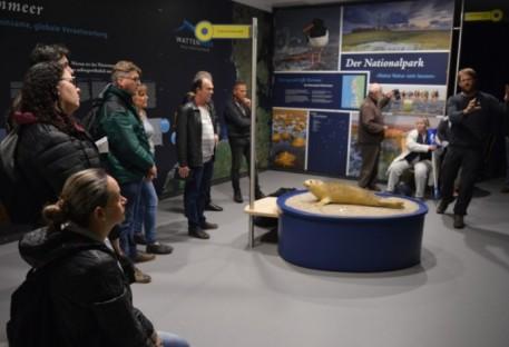 Meio ambiente foi tema de mais um dia de intercâmbio entre Nordfriesland e Vale do Itajaí