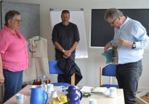 Primeiro dia teve recepção com Pröpstin Annegret Wegner-Braun