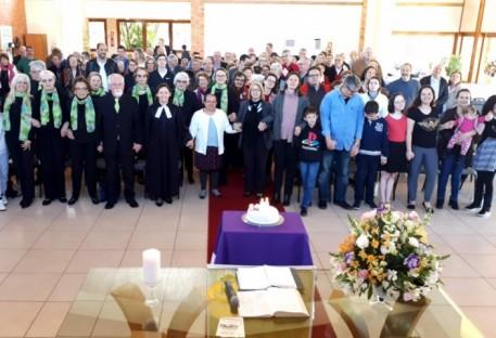 Comunidade São Lucas em Porto Alegre celebra 55 anos