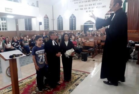 Culto Paroquial de Gratidão e Envio do Pastor Jorge Dumer para seu novo Campo de Trabalho