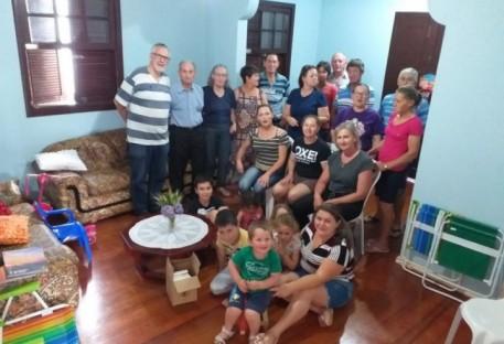 Encontro de Famílias - Comunidade Barra do Pinhal - Rodeio Bonito/RS