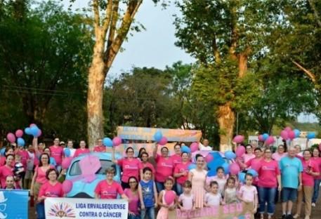 Erval Seco: Caminhada Outubro Rosa/Novembro Azul - Caminhada de Mãos dadas pela Vida