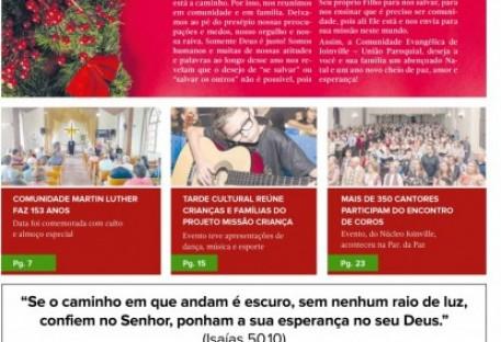 Joinville Luterano. Ano XIX -  Número 115 - Novembro e Dezembro 2019