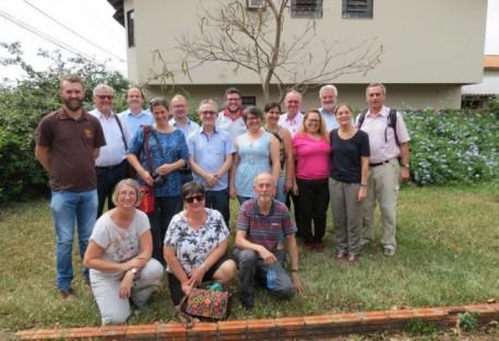 Igreja Evangélica Luterana na Baviera visita famílias agricultoras ecológicas no Paraná