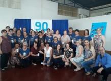 Celebração dos 90 anos OASE Bom Pastor - Coronel Barros/RS