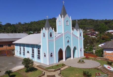 Inauguração de Novo Templo em Alto Bela Vista/SC