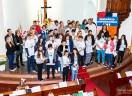 Com o tema Paz a Paróquia de Cachoeira do Sul/ RS realiza Seminário de Confirmandos