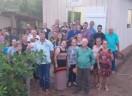 Dedicação de novo templo do ponto de pregação 14 de Abril - Espigão do Oeste/RO