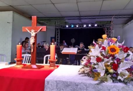 Encontro da Família Luterana em Massaranduba/SC