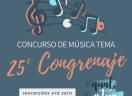 Concurso de Música Tema - 25º CONGRENAJE