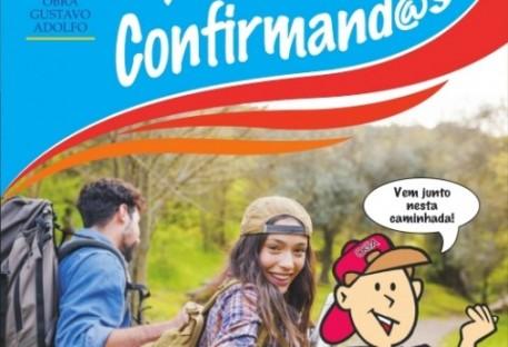 Confirmandos da Paróquia de Ernestina Participam da Campanha Ação Confirmando 2019