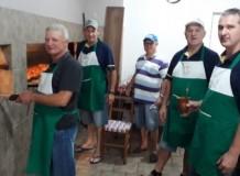 Meio-frango da LELUT em parceria com a Paróquia de Feliz/RS