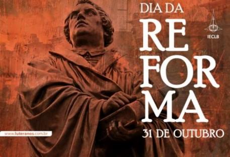 Em três municípios o Dia da Reforma é feriado