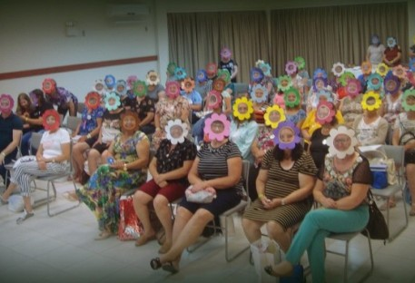 Retiro de Coordenadoras Paroquiais da OASE do Sínodo Centro-Sul Catarinense