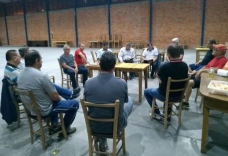 Reunião para organizar Núcleo da LELUT