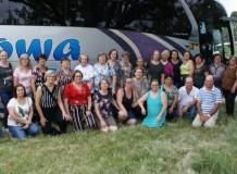 Grupos das OASE da Paróquia de Ernestina Participam do Encontro Sinodal de Mulheres da OASE