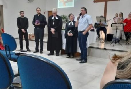 Instalação Missionário Ricardo Neumann
