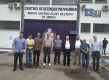 Visita ecumênica - Centro de Detenção Provisória (Jundiaí)