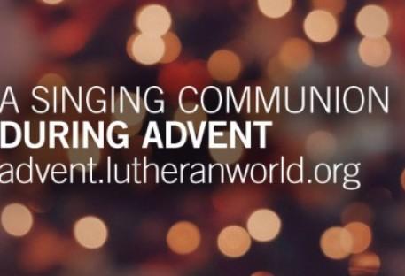 Uma Comunhão Cantante durante o Advento - Federação Luterana Mundial