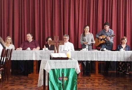 Pastoral da Pessoa Idosa do Vale do Itajaí tem confraternização de encerramento em Blumenau Centro