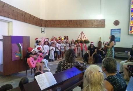 Natal com as crianças, em Santo André/SP