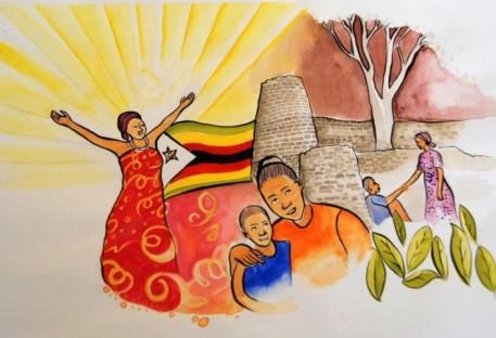 Explicação do Cartaz do Dia Mundial de Oração 2020
