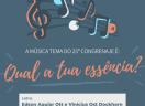 Edson Aguiar Ott e Vinícius Ost Dockhorn vencem concurso que escolheu música tema do CONGRENAJE 2020