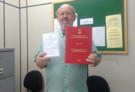 Defesa da tese de Doutorado do P. Teobaldo Witter