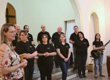 Culto especial com o Grupo Aleluia em Santo Antônio da Patrulha/RS