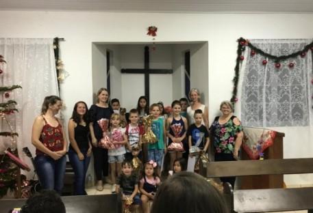 Na Divisa, Culto de Natal com as Crianças...