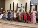 Em Garuva, Natal das Crianças...