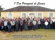 1º. DIA PAROQUIAL de CASAIS - Paróquia Evangélica de Boa Vista - São Lourenço do Sul/RS
