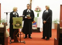 Culto de Envio para a Aposentadoria - Pa. Marion Freitag