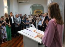 Alameda Haus Artes e Idiomas é inaugurada oficialmente para a comunidade blumenauense