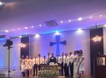Participação em celebração ecumênica em formatura da UNITINS