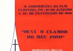 30 Anos da VIII Assembleia da Federação Luterana Mundial em Curitiba/PR